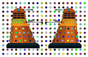 Dr. Who Digital Art Framed Prints - Extrapolate Extrapolate Framed Print by John Gaffen