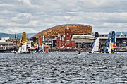 Steve Purnell Metal Prints - Extreme 40 At Cardiff Bay Metal Print by Steve Purnell