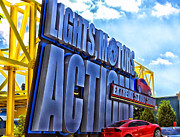 Magic Kingdom Photographs Prints - Extreme Stunt Show 1 Print by Thomas Woolworth