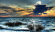 Extreme Sunset - Outer Banks Print by Dan Carmichael