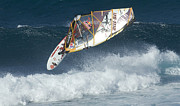 Extreme Sports Prints - Extreme Windsurfing  Print by Bob Christopher