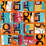 Bold Prints - Exuberance Print by Carol Leigh