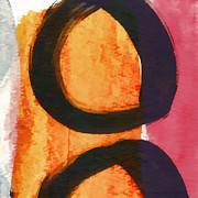 Exuberance Mini 15 Print by Carol Leigh