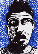 Popart Drawings Prints - Exxkeptikal Print by Carlos Morel