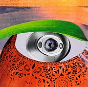 Michelle Mixed Media Posters - Eye 1 Poster by Michelle L Bolin