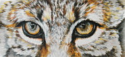 Bobcat Art Prints - Eye-catching Bobcat Print by Barbara Keith