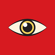 Watchdog Prints - Eye Print by Igor Kislev