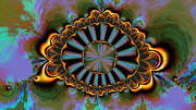 """generative Abstract"" Framed Prints - Eye of centauris Framed Print by Claude McCoy"