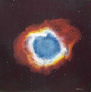 Nebulae Painting Originals - Eye of God by Jim Ellis