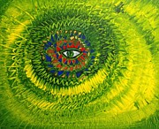 Insight Paintings - Eye of the I by Ross Girardi
