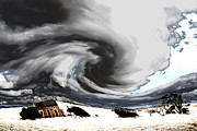Unreal Digital Art - Eye of the storm by John Wallace