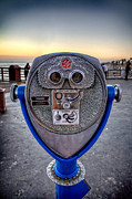 Oceanside Pier Posters - Eye See You Poster by Peter Tellone