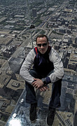 Ledge Photos - Eyes Down From The 103rd Floor Just Sitting Around by Thomas Woolworth