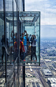 Ledge Photos - Eyes Down From The 103rd Floor Neighbors by Thomas Woolworth