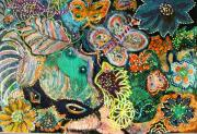 Eyes In Hiding Print by Anne-Elizabeth Whiteway