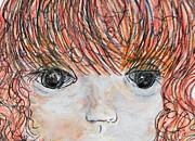 Eyes Of Innocence Print by Eloise Schneider