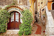 Provence Village Framed Prints - Eze France Framed Print by Brian Jannsen