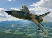Vietnam Prints - F-105D Thunderchief Mary Kay Print by Stu Shepherd
