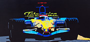 Indy Car Painting Framed Prints - F1 Framed Print by Bryan Dubreuiel