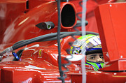 Formula Car Photos - F1 Driver Felipe Massa by Rafa Rivas