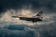 Fighting Tigers Art - F16 Tiger by James Biggadike