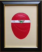 Artisan Made Framed Prints - Faberge Egg 1 Framed Print by Ron Davidson