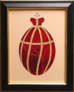 Artisan Made Framed Prints - Faberge Egg 2 Framed Print by Ron Davidson