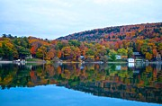 Otsego Lake Posters - Fabulous Fall Poster by Bill Miller