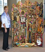 Huge Assemblage Sculptures - Faces of Grace by Marie Howell Gallery