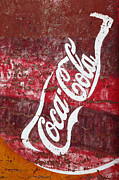 Coca-cola Mural Prints - Fading Fizz Print by James Brunker