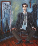 Masculine Paintings - Fading Identity by Yulonda Rios