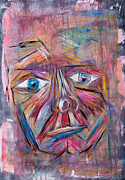 Insecurity Prints - Fading Man Print by Matthew  Wardell
