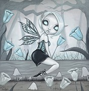 Fantasy Painting Metal Prints - Fae Colours 05 Metal Print by Elaina  Wagner