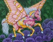 Faery Horse Hope Print by Beth Clark-McDonal