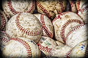 Baseball Photo Metal Prints - Fair Balls Metal Print by Caitlyn  Grasso