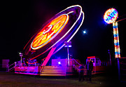 Amusements Prints - Fairground 1 Print by Ian Hufton