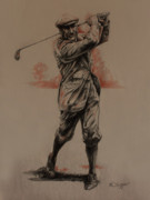 Driver Drawings - Fairway by Derrick Higgins