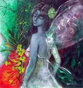 Cool Digital Art Originals - Fairy 3 by Bhaskar Bhattacharya