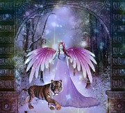 Jessie Art - Fairy and Tiger
