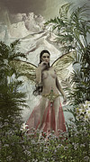 Concubine Digital Art Originals - Fairy concubine by Joaquin Abella Ojeda