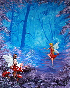 Jean Walker Prints - Fairy Dancer Print by Jean Walker