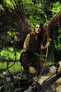 Huntress Photos - Fairy Huntress by Cherie Haines