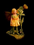 Fairies Art Photos - Fairy by Linsey Williams
