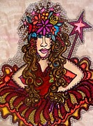 Little Girls Room Mixed Media - Fairy Princess by Gerri Rowan