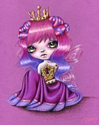 Princess Drawings - Fairy Princess by Sour Taffy