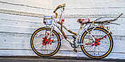 City Photography Digital Art - Fairy Tale Bike Flying Machine by Ben and Raisa Gertsberg