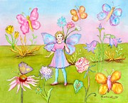Madeline  Lovallo - Fairy with Butterflies