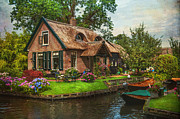 The North Photo Posters - Fairytale House. Giethoorn. Venice of the North Poster by Jenny Rainbow