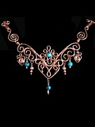 Wirework Jewelry - FairyTale II by Jan  Brieger-Scranton
