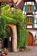 Alsace Prints - Fairytale Village Print by Brian Jannsen